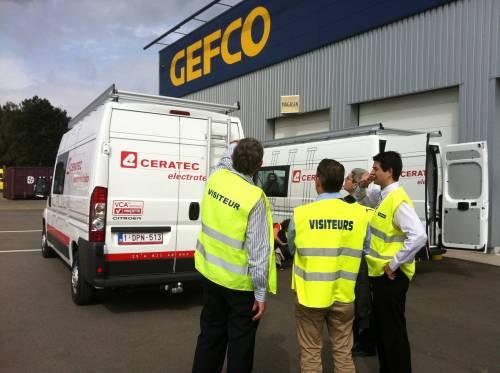 Ceratec confie à Gefco l'aménagement de sa flotte d'utilitaires Citroën