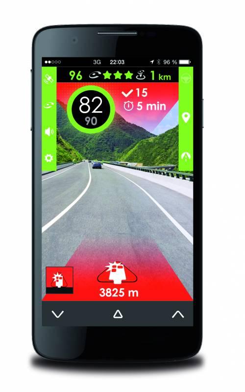 iCoyote: la première app compatible MirrorLink et qui offre des infos de sécurité routière