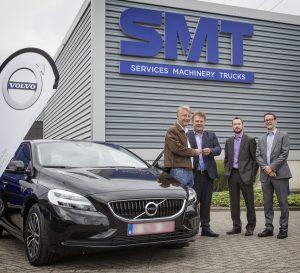 SMT versterkt zijn samenwerking met Volvo via 30 nieuwe voertuigen