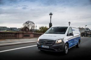 Binnenkort een elektrische aandrijving voor alle modellen van Mercedes-Benz Vans