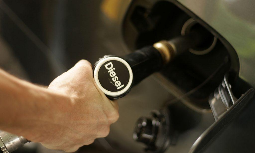 Stijging Voordeel Van Alle Aard 2018 Enkel Voor Dieselvoertuigen