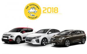 VAB Voiture Familiale de l'année 2018 : Citroën, Renault et Hyundai récompensés