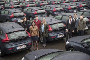 Volvo Van Kasteren levert 70 auto's aan Planet Talent