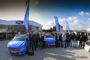 Ford aan de start van de grote Ronde samen met Wanty-Groupe Gobert