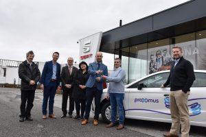 Proximus prend livraison de 400 SEAT Ibiza