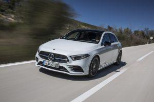 Nouvelle Mercedes Classe A: l'intelligence artificielle sur les modèles compacts