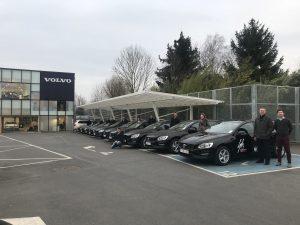 Volvo en Groep Huyzentruyt gaan partnerschap aan