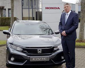 Hans De Jaeger wordt Branch Director van Honda Benelux