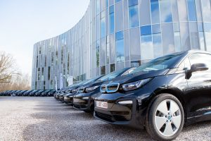 Le Groupe Planet met la plus grande flotte de voitures électriques en service