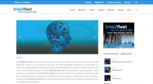Découvrez le nouveau site link2fleet forum & awards