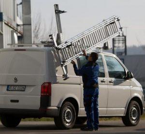 Sortimo introduceert nieuwe zijlift voor ladders
