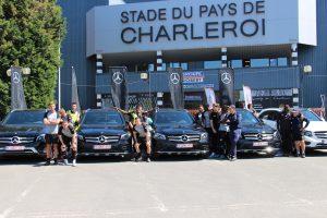 Sogalux livre 10 Mercedes GLC aux joueurs du Sporting de Charleroi