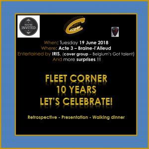 Le Fleet Corner fête son 10ème anniversaire