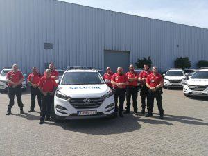 Hyundai levert nieuwe Tucsons aan Securail