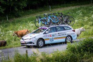 Toyota sprint komende vier jaar samen met Belgian Cycling