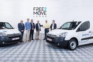 Proximus neemt 888 Citroëns Berlingo in dienst
