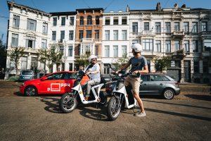 Poppy lanceert elektrische deelscooters in Antwerpen