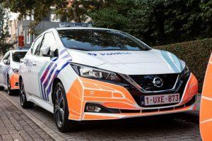 La police d'Ostende assurera la surveillance de quartiers en Nissan LEAF