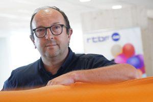 """Frédéric Pairoux (RTBF) : « Onze collega's helpen om hun gedrag te veranderen"""""""