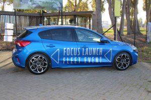 Geslaagde eerste fleettest van de nieuwe Ford Focus