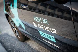 Ubeeqo lanceert nieuwe vloot hybride wagens in Brussel