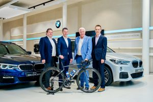 BMW wordt de nieuwe officiële autopartner van Deceuninck-Quickstep Floors