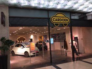 Cardoen opent pop-up store met uniek concept in Antwerps winkelcentrum