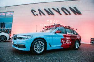 Katusha Alpecin kiest voor de Belgische nummer één premium autofabrikant BMW als officiële autopartner.