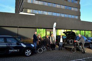 Panalpina vervoegt de BMW Mobility Shifters met combinatie vouwfiets en bedrijfswagen