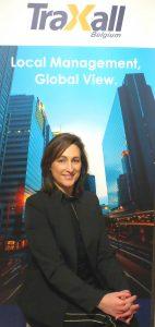 Farrah Pedrido nommé comme Sales Manager chez TraXall Belgique