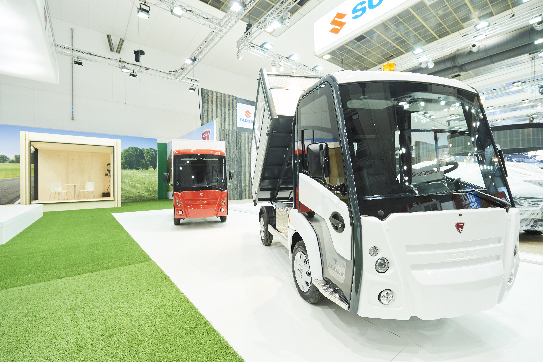 Addax Een 100 Elektrische En 100 Belgische Kleine Bestelwagen