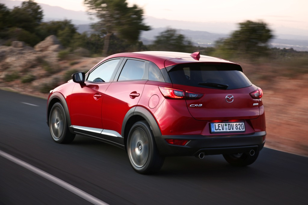 test du mazda cx 3 flirter avec la car policy. Black Bedroom Furniture Sets. Home Design Ideas