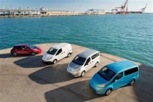 AVIS possède la plus grand flotte de véhicules électriques Nissan d'Europe
