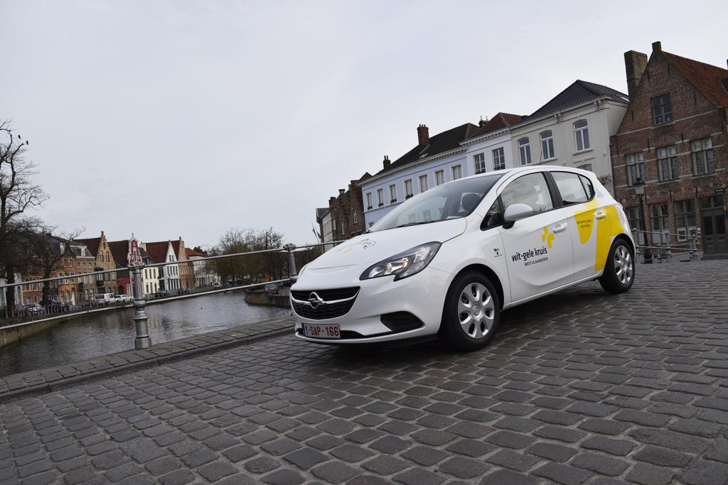 Wit Gele Kruis West Vlaanderen Kiest Voor Opel Corsa Link2fleet