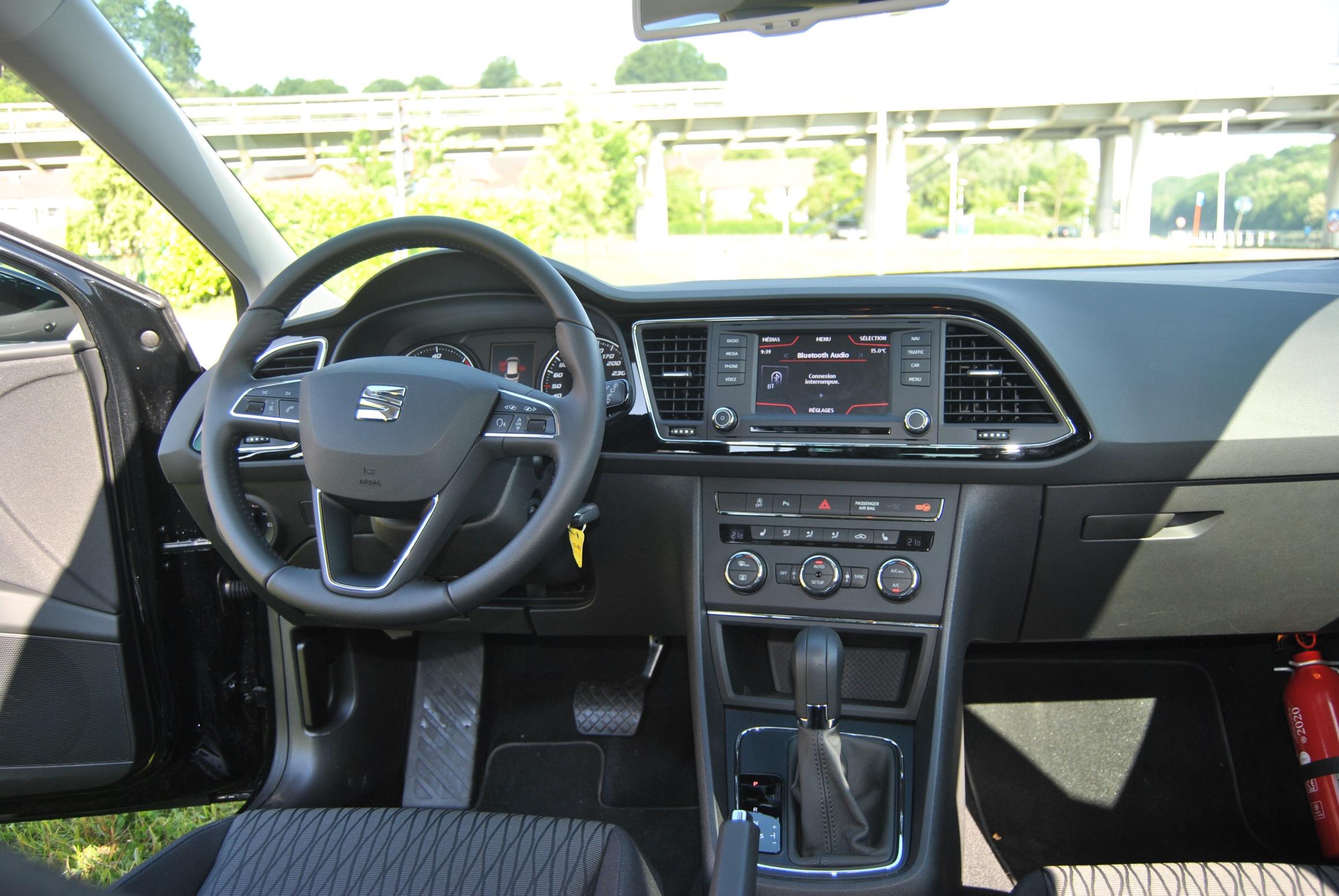 une semaine au volant de la seat leon st 1 6 tdi 105 ch link2fleet for a smarter mobility. Black Bedroom Furniture Sets. Home Design Ideas