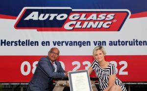 Autoglass Clinic verkrijgt het certificaat Duurzaam Repareren voor alle Service Centra