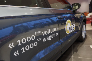 D'Ieteren a livré 1000 voitures à VAB