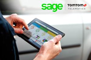 TomTom Telematics werkt samen met Sage voor het leveren van realtime fleet accounting